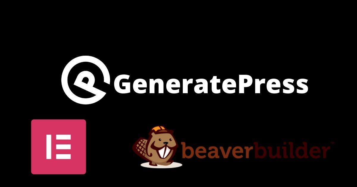 Best Page Builder For GeneratePress