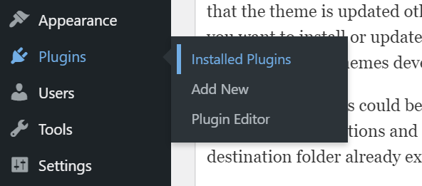 Fix installation failed: destination folder already exists.