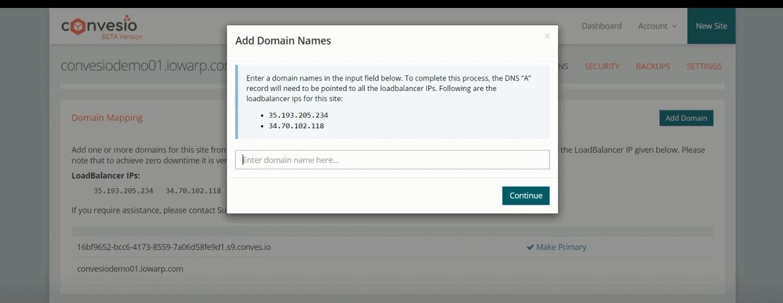 creating new domain names