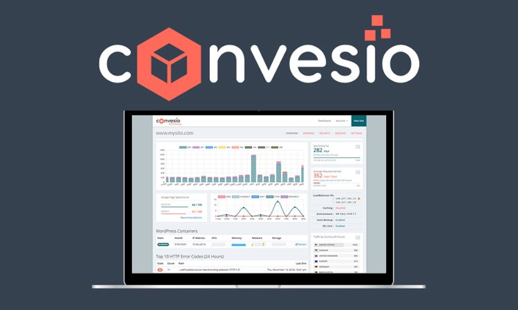Convesio-The best Managed Ultra-Fast WordPress Hosting